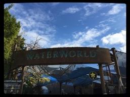 Der Eingang zur Waterworld-Show in den Universal Studios Hollywood.
