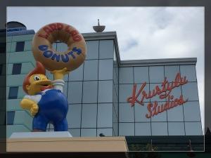Neben Dunkin' Donuts die wohl bekannteste Donut-Fabrik im Krustyland.