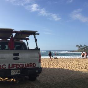 """Lifeguard a la """"Die Rettungsschwimmer von Malibu""""...halt in weiß und nicht in gelb;-)"""