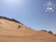 Ganz schön hoch die Berge in so ner Wüste.