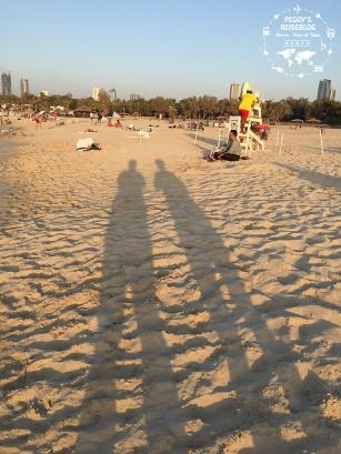 Dick und doof im Schatten;-)