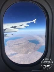 ...keine Ahnung über welches Land wir hier gerade fliegen. Sieht auf jeden Fall gigantisch aus.